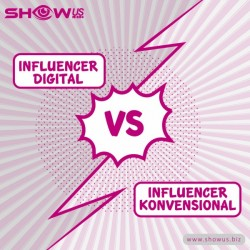 Influencer Digital vs Influencer Konvensional